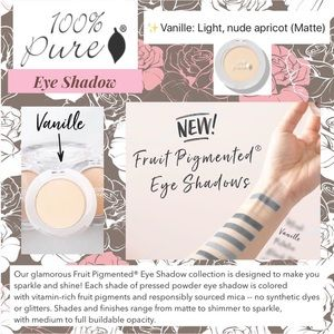100% PURE: Eyeshadow - Vanille